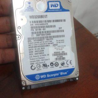 Jual HDD WD Blue 320gb bekas