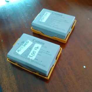 Jual baterai canon eos 450d,1000d,500d LP-e5 bekas