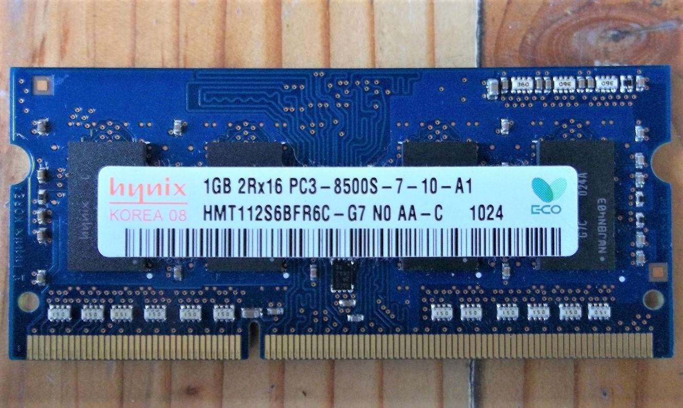 Jual RAM 1GB DDR3 RAM DDR3 8500 second