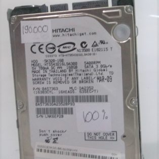 Jual HDD 2.5″ 160GB – Hitachi