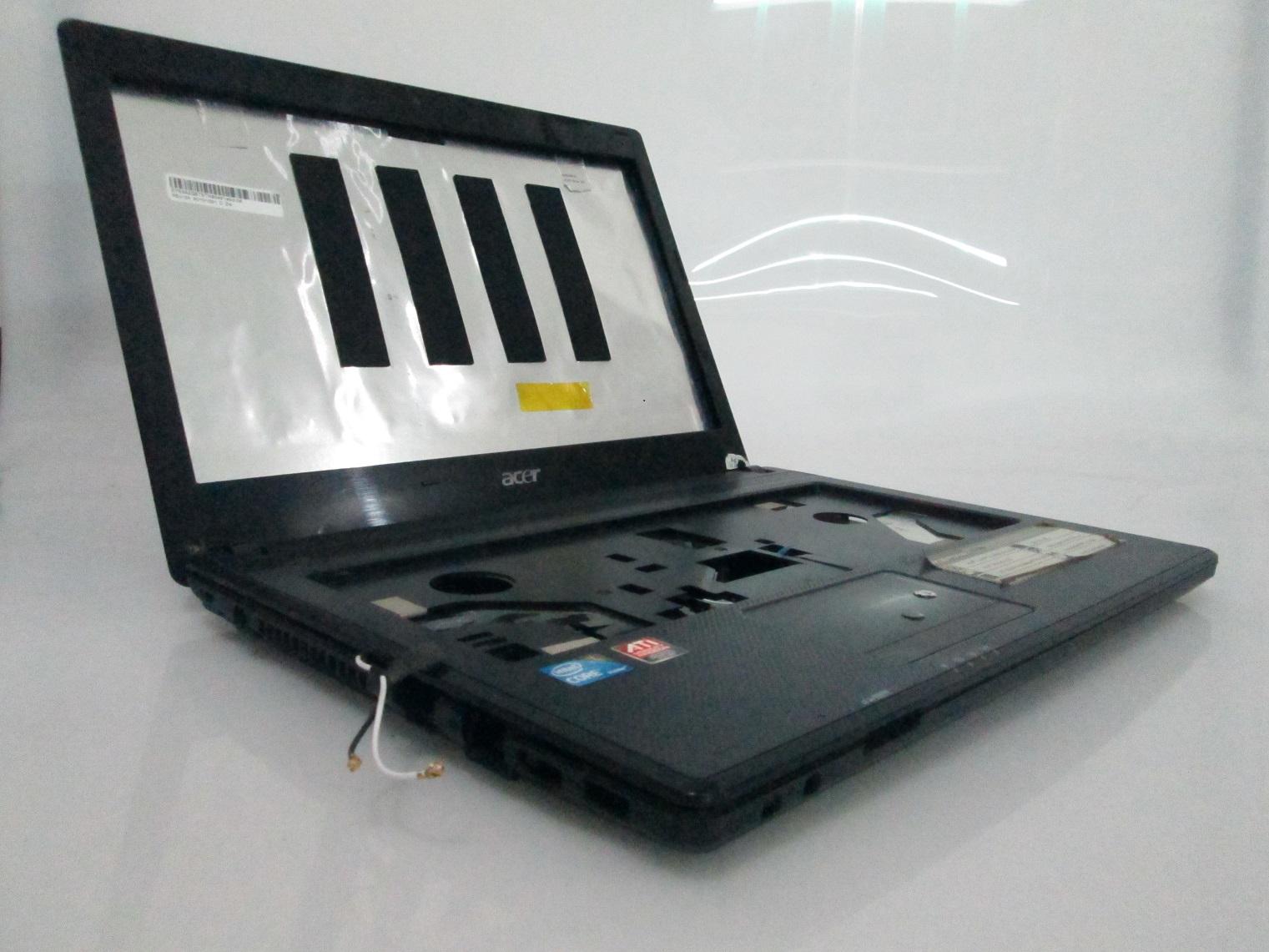 jual casing laptop acer aspire zq8b bekas