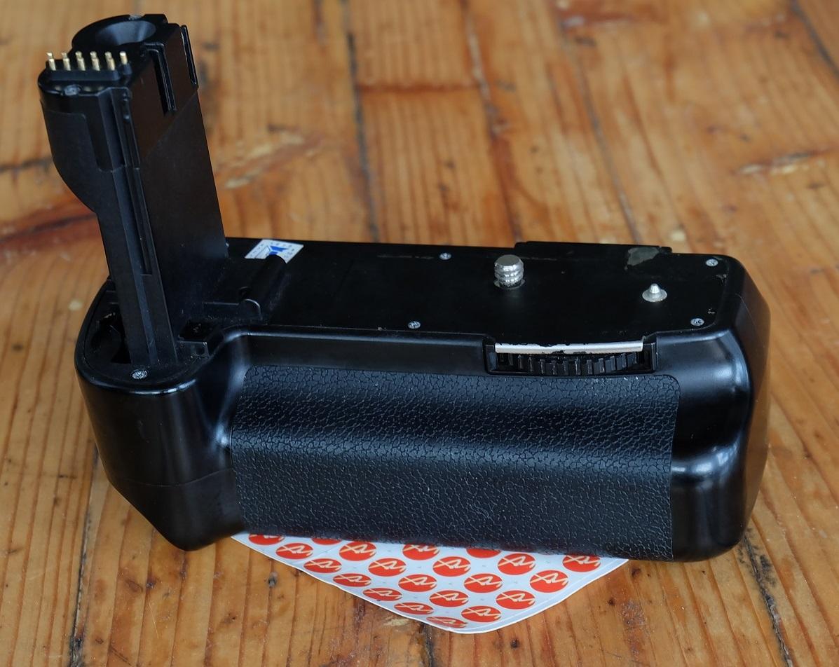 Jual Baterai Grip Canon 40D bekas