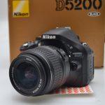 Jual Kamera Nikon D5200 Sc Rendah