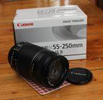 Jual Lensa Kamera Canon Eos 55-250MM