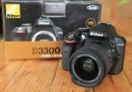 Jual Nikon D3300 Lensa 18-55 VR