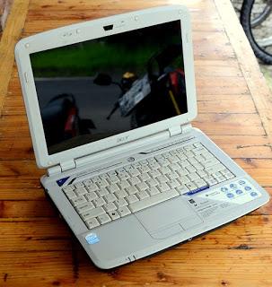 jual laptop bekas acer aspire 2920z bekas