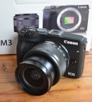 Jual Canon EOS M3 + Kit EF-M15-45 IS STM