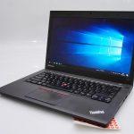 Jual Lenovo Thinkpad T450 bekas