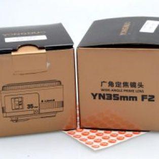 Jual Lensa Yongnuo for Canon 35mm f2 baru