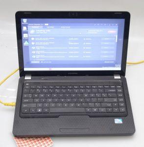 jual laptop bekas compaq cq42 bekas malang