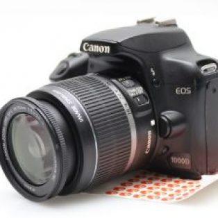 Jual Kamera DSLR Canon 1000D Bekas