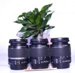 Jual lensa Kit 18-55mm IS Canon Bekas
