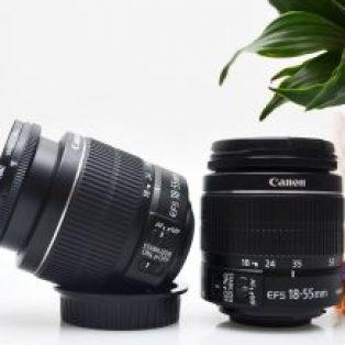 Jual Lensa Kit 18-55mm IS2 Canon Bekas