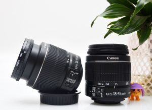 lensa canon 18-55mm is2