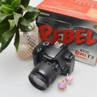Jual Kamera DSLR Canon Rebel T3 atau 1100D Bekas