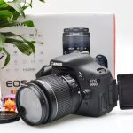 Jual Kamera DSLR Canon 600D Fullset Bekas