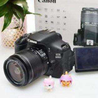 Jual Canon EOS 600D Fullset Bekas