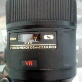 Jual Lensa Nikon 105mm f/2.8 VR Bekas