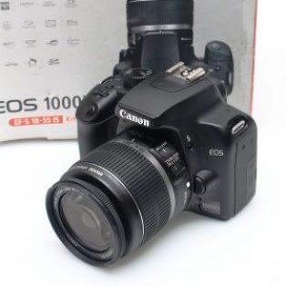 Jual Kamera Canon EOS 1000D SC. 8Rb_an Fullset