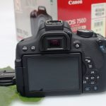 Jual Kamera DSLR Canon EOS 750D Fullset Bekas