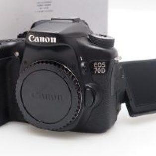 Jual Kamera DSLR Canon EOS 70D Fullset