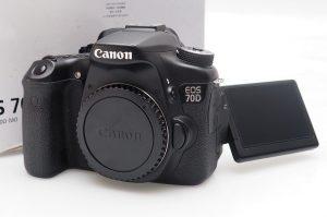 Canon eos 70D Bekas