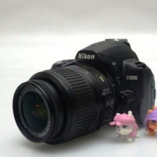 Jual Kamera DSLR Nikon D3000 Bekas