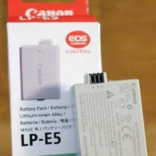 Jual baterai Canon 1000d,500d, 450d Baru
