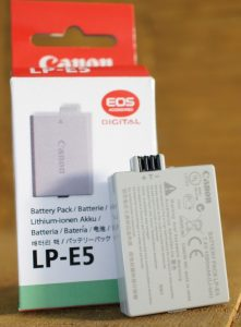 battery canon