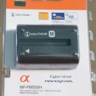 Jual baterai Kamera Sony NP-FM500h Baru