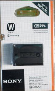 battery kamera mirrorless sony