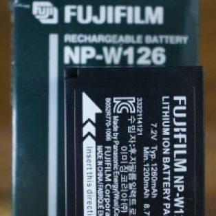 Jual baterai Fujifilm NP-W126 Baru