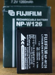 battery kamera