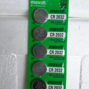 Jual baterai CMOS Maxell CR2032