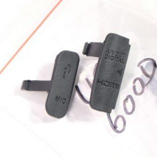 Jual Tutup Mic, USB, HDMI Untuk Canon EOS 600D
