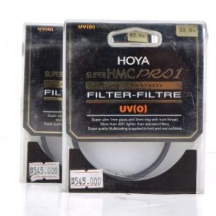 Jual HOYA Super HMC Pro 1 UV(0) Multicoated (filter) baru