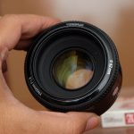 Jual Lensa FIX Yongnuo 50mm f1.8 for Canon Bekas