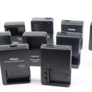 Jual Charger Kamera DSLR, Mirrorless, Prosumer Baru