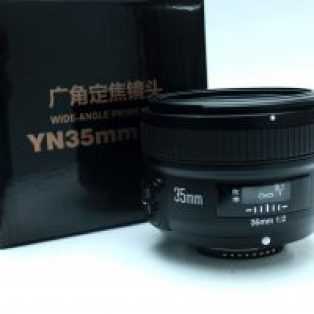 Jual lensa Yongnuo 35mm F2 for Canon