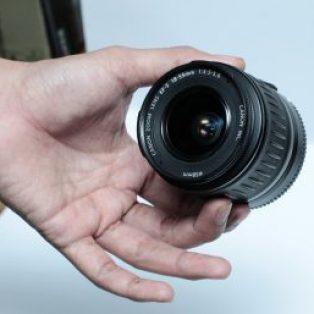 Jual Lensa Canon 18=55mm Bekas