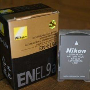 Jual baterai Kamera Nikon EN-EL9A Baru