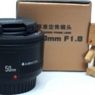 Jual Lensa YONGNUO 50mm F1.8 for Canon Baru