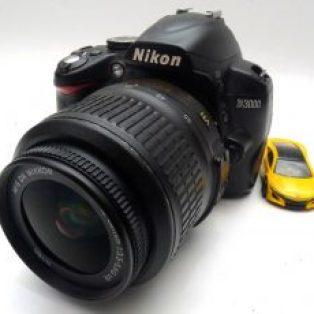 Jual Kamera Dslr 2nd nikon D3000