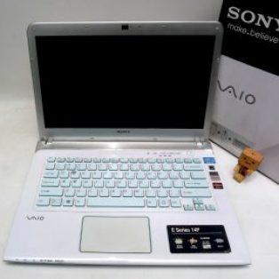Jual Laptop Gaming Sony Vaio SVE14A25CVW Bekas