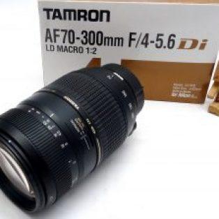 Jual Lensa Tamron 70-300mm For Nikon Bekas