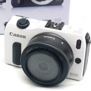Jual Mirrorless Canon EOS M Bekas Fullset