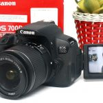 Jual Kamera DSLR CANON EOS 700D Touchscreen FULLSET