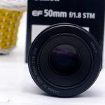 Jual Lensa Canon 50mm f 1.8 STM bekas