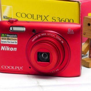 Jual Kamera Digital Bekas Nikon Coolpix S3600