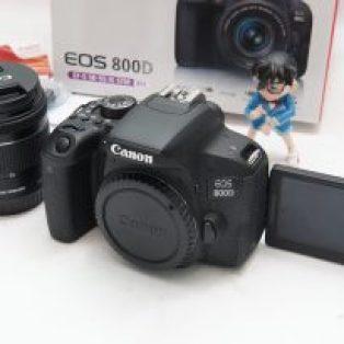 Jual Canon EOS 800D + Kit 18-55mm STM